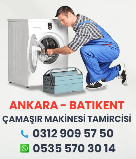 Batıkent Çamaşır Makinesi Tamiri