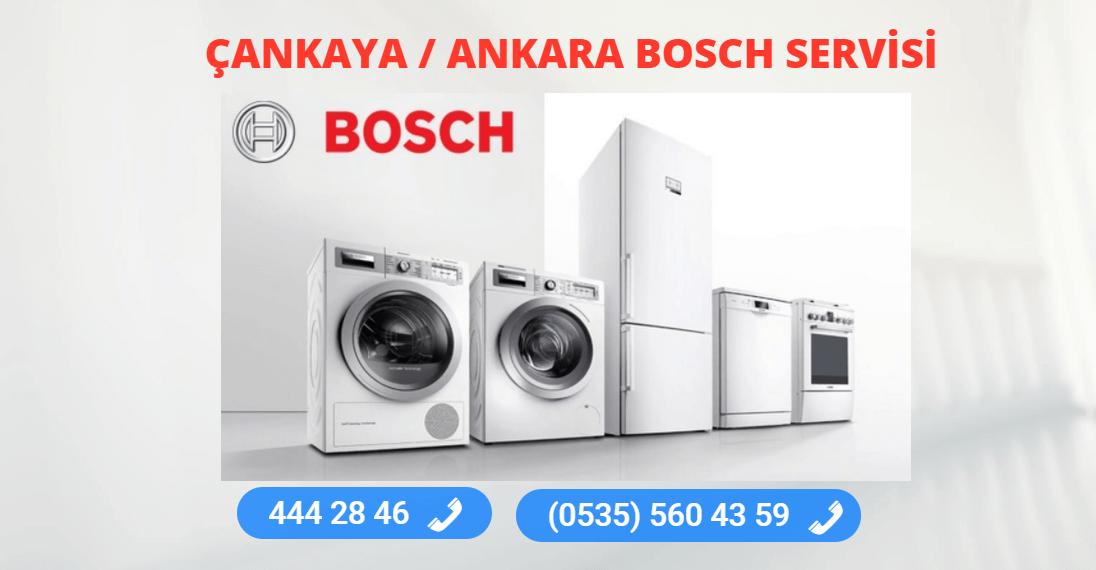 Bosch Servisi Çankaya