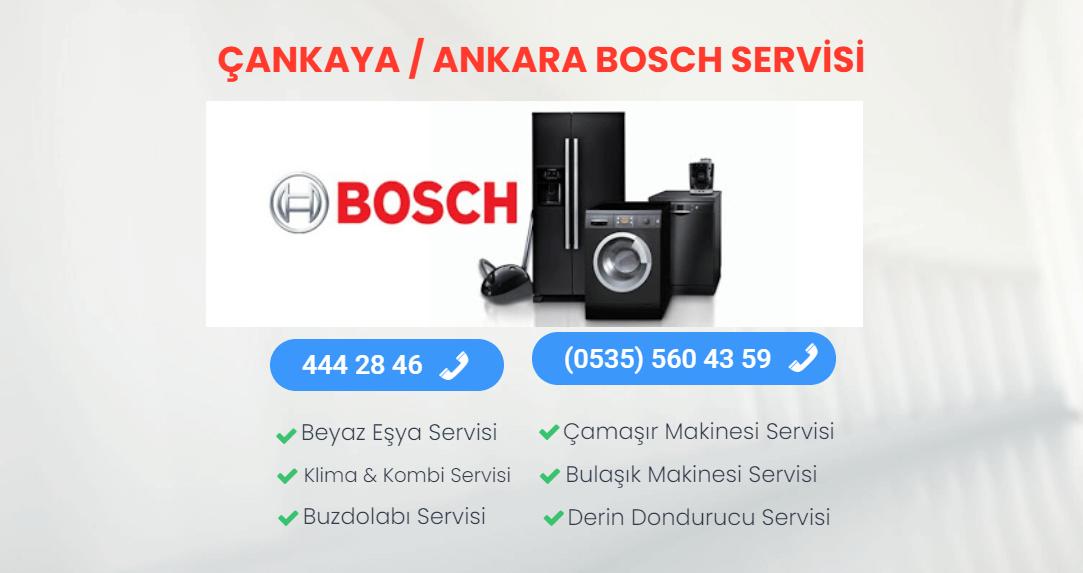 Çankaya Bosch Servisi