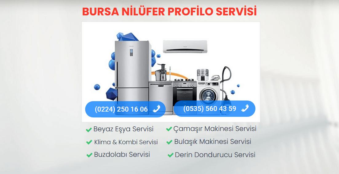 Nilüfer Profilo Teknik Servisi