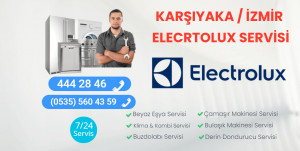 Karşıyaka Electrolux Servisi